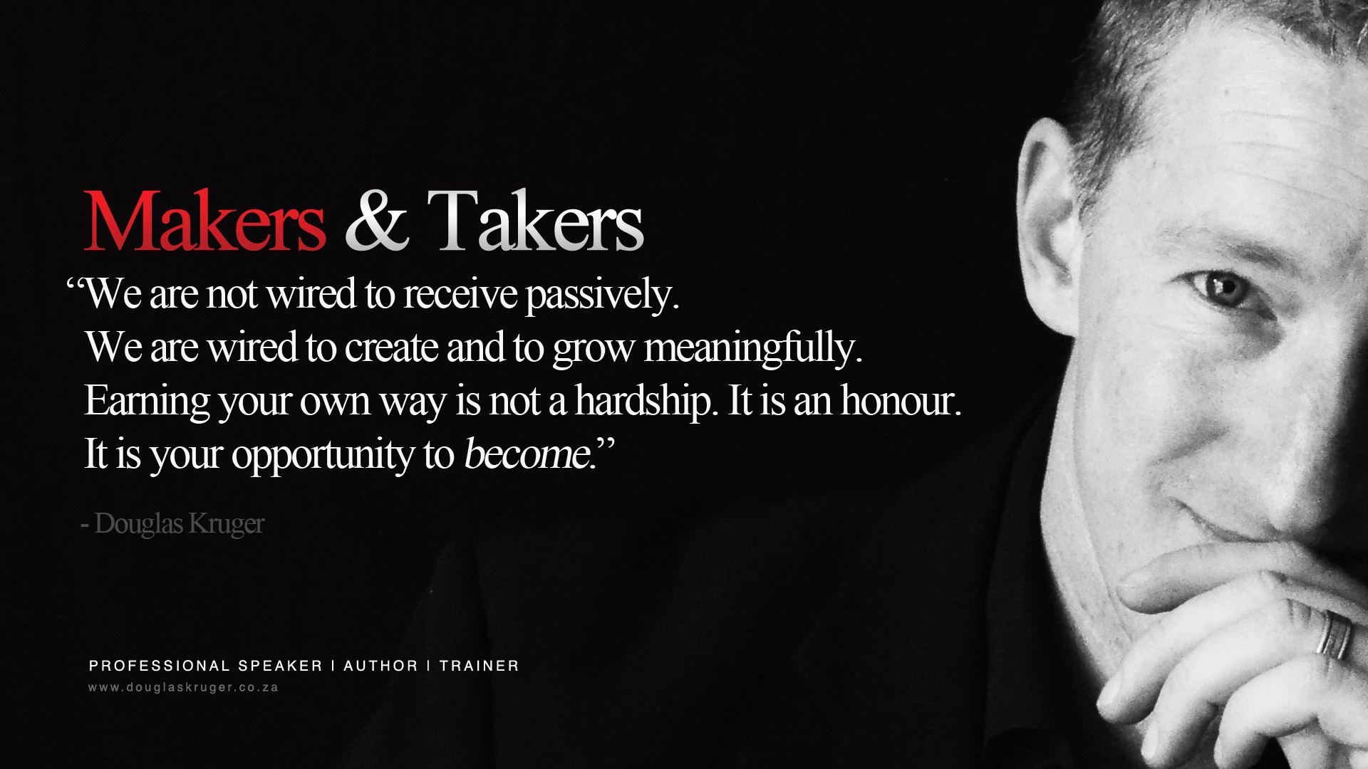 makers and takers essay Books, essays, blogs on liberty and individual freedom by libertarian   impending monetary revolution, makers and takers, trojan project.